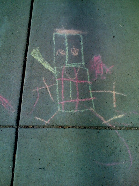 1-a-childs-depiction-of-man-colored-chalk-on-sidewalk-2008