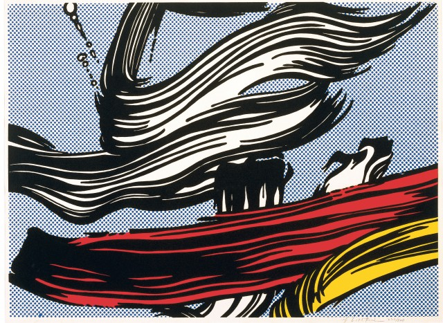 lichtenstein-brushstroke-painting-1