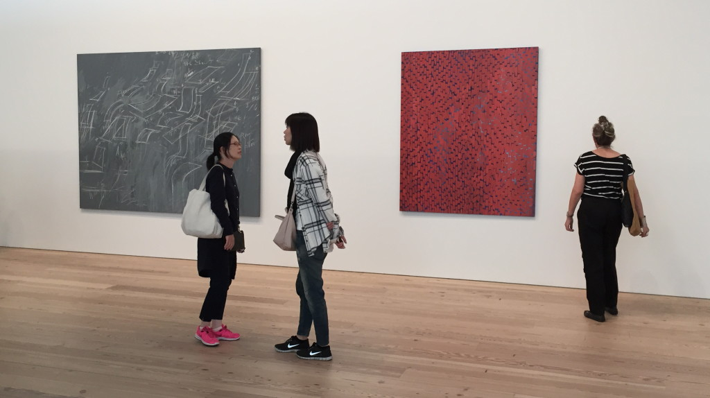 Whitney Museum, 9-21-2015, Paintings by Cy Twombly and Alma Thomas